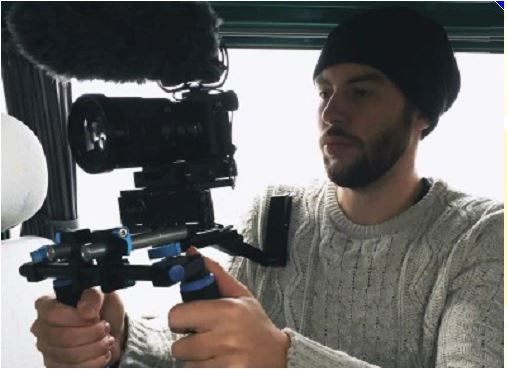 Il regista aronese Stefano Zan