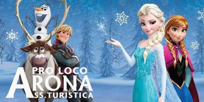 Natale dei bimbi ad Arona: arriva Frozen con la Pro loco