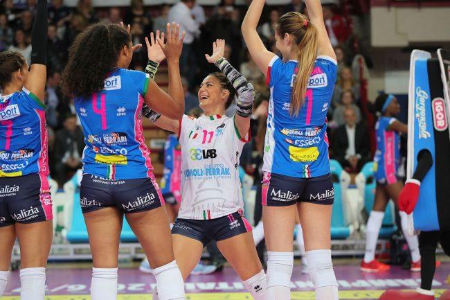 Volley femminile semifinale scudetto: Novara pareggia la serie con Scandicci