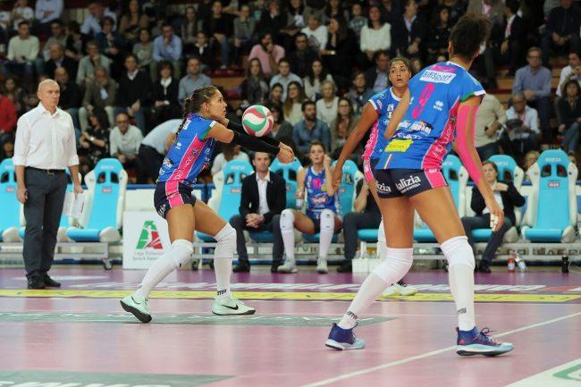 Volley semifinale scudetto: Novara vince gara 3, ora è avanti 2-1 contro Scandicci