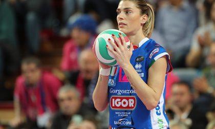 Francesca Piccinini ci ripensa e torna a giocare