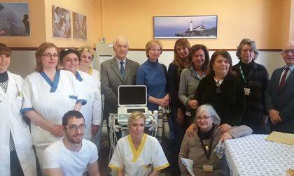 Un nuovo ecografo all'hospice di Galliate nel nome di Giulio