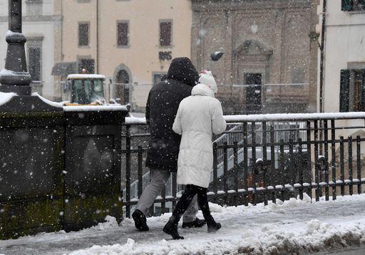 TORINO. Maltempo: neve da domani in Piemonte poi gelo siberiano
