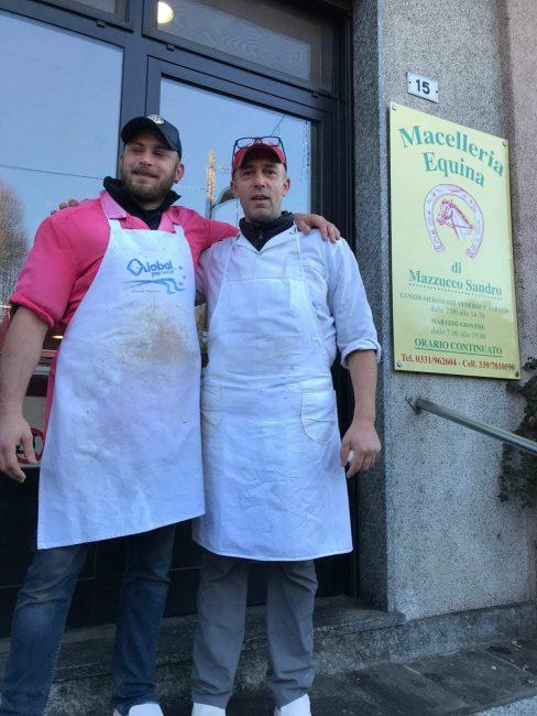 Mazzucco con Alessio Siciliano