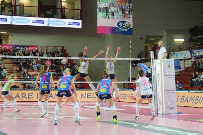 Igor Volley Novara: nei play off con Firenze buona la prima