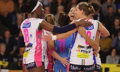 Volley Champions league, Igor Novara  vince 3-0 anche a Minsk
