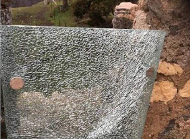 Parco della Rocca di Arona, vandali alla Torre Mozza