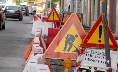 Viabilità modificata a Borgomanero per manutenzione straordinaria delle strade fino al 31 ottobre