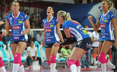 Volley Champions League, stasera la Igor in campo a Minsk