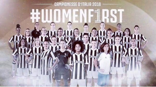 Juventus femminile giocherà a Novara la Champions
