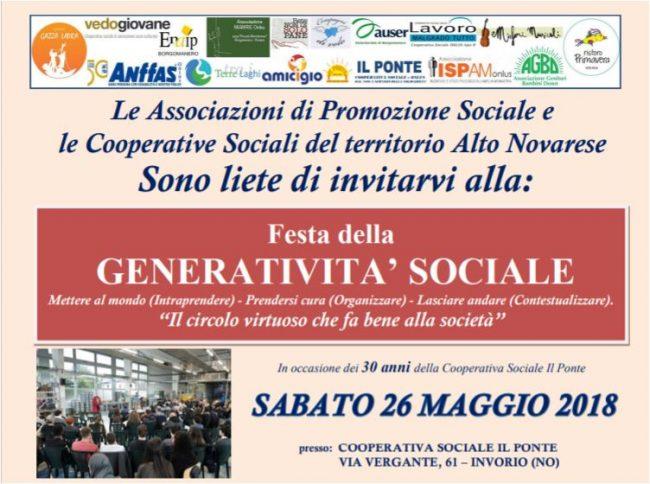 Generatività sociale: festa per i 30 anni della cooperativa Il Ponte