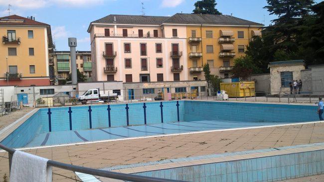 Piscina di via Solferino, riapertura il 28 luglio