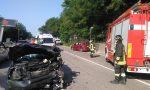 Incidente all'imbocco dell'autostrada: 5 persone coinvolte fra le quali una bimba