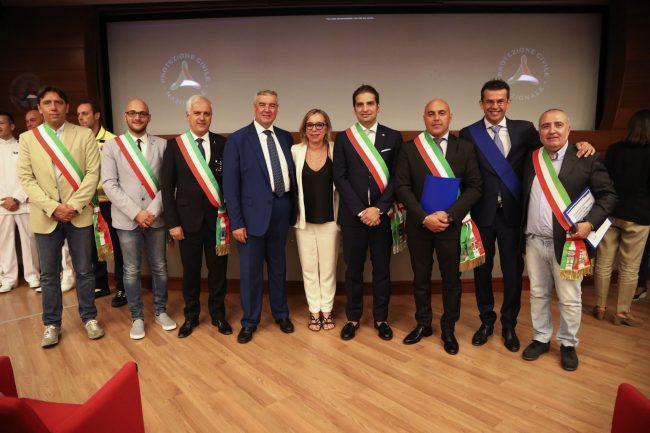 Protezione Civile premio borgomanero