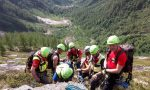 Precipita escursionista di 75 anni: la donna ricoverata al Cto in codice rosso