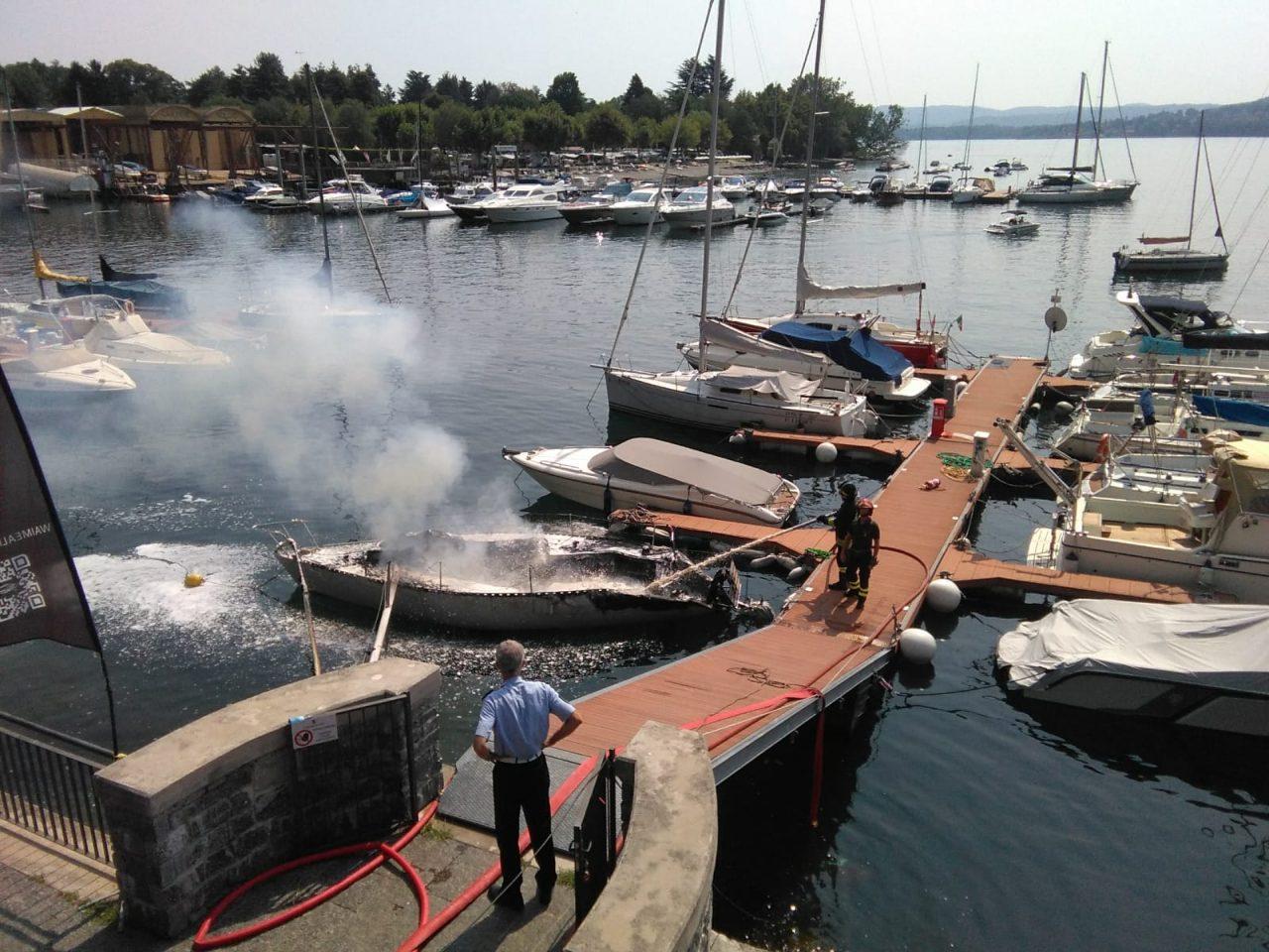 barca incendio solcio lesa