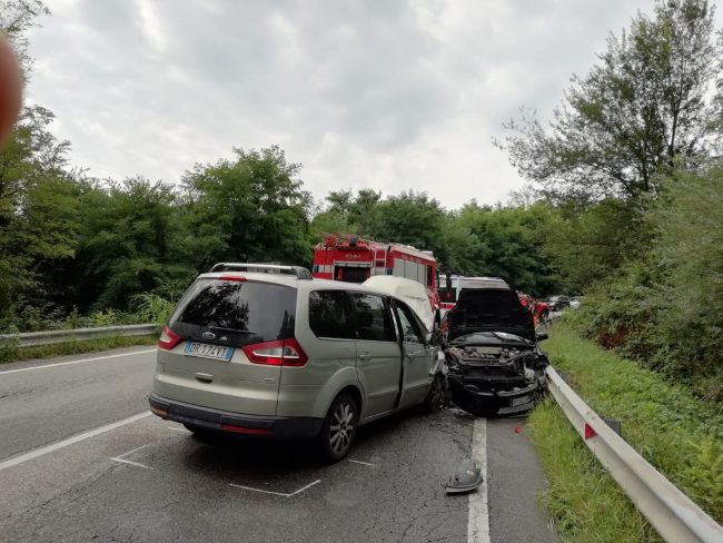 Incidente sulla Strada provinciale 32