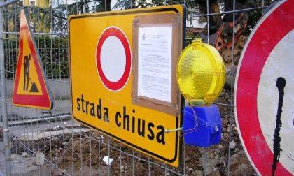 Chiusa via San Carlo a Castelletto per lavori