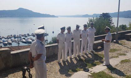 Guardia costiera, il direttore marittimo della Liguria in visita sul lago Maggiore