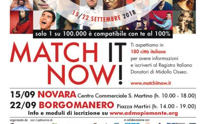 Match it now per la donazione del midollo osseo