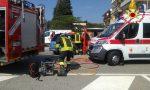 Scontro camion auto a Paruzzaro: persona incastrata