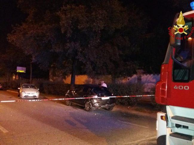 Incidente stradale in viale Dante a Novara