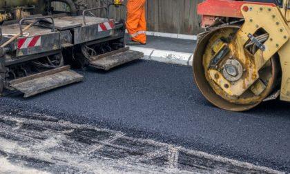 Lavori di asfaltatura in corso XXIII Marzo