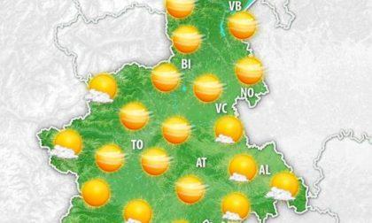 Meteo freddo ma soleggiato: prevista pioggia nel weekend