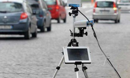 Controlli con autovelox nei prossimi giorni a Novara