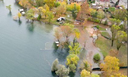 Lago alto: le spettacolari immagini di Arona e Meina