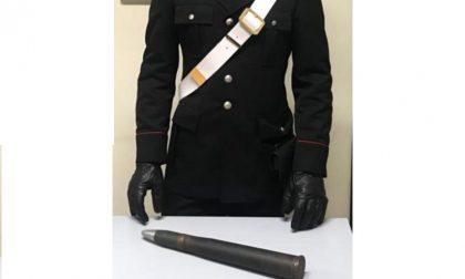 Proiettile da guerra venduto on line, all'appuntamento si presentano i carabinieri