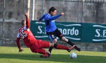 Per il Novara calcio pari a reti bianche a Cuneo