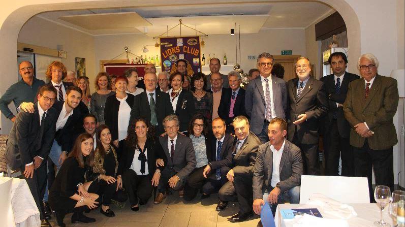 Lions Club dona 7.000 euro al Ristoro Primavera di Meina
