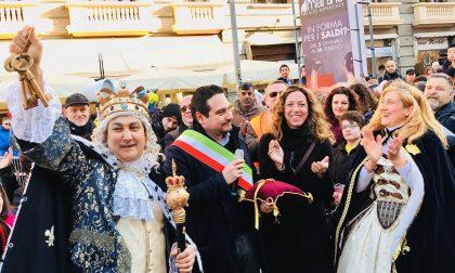La corte di Re Biscottino in udienza da Papa Francesco