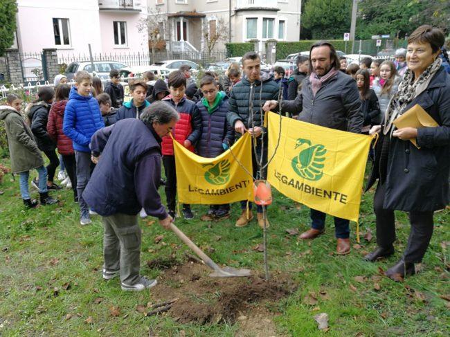 Festa dell&#8217&#x3B;albero: piantato un pero nel giardino della scuola