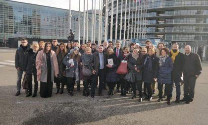 Amministratori novaresi a pochi passi dalla sparatoria di Strasburgo