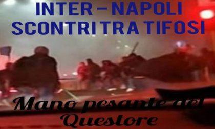 Inter Napoli: scontri tra Ultras, morto tifoso di Varese