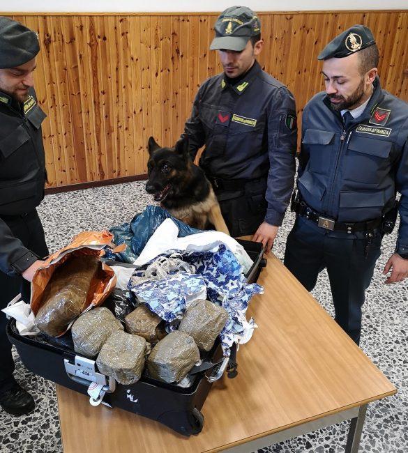 Droga, tre arresti e sequestro di stupefacente per un valore di oltre 100.000 euro