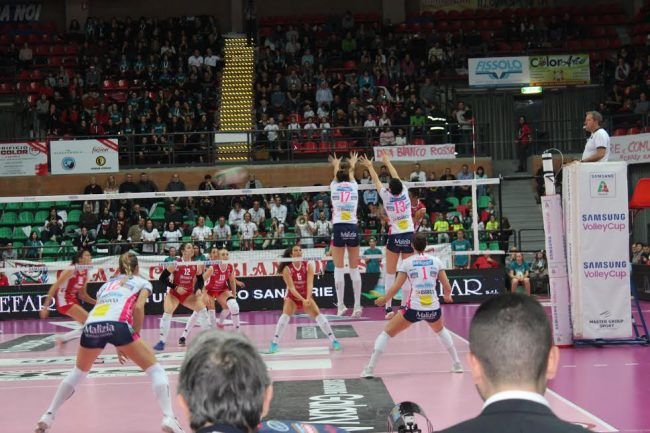 Igor Volley straripante a Cuneo