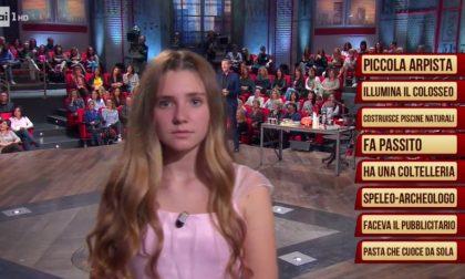 Bambina castellettese in onda in tv e protagonista di spettacoli e televisione