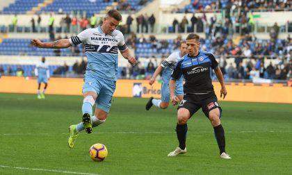 Il Novara calcio perde a Roma e saluta la Coppa Italia