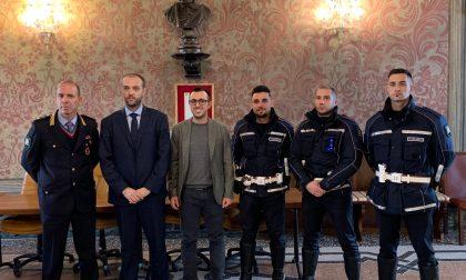 Tre nuovi agenti di polizia a Trecate