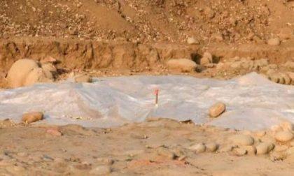 Scoperta necropoli romana tra Cureggio e Fontaneto