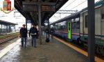 Maxi operazione della polizia ferroviaria: denunciata una donna ad Arona