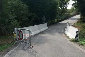 Ponte chiuso in via della Pace: Varallo e Divignano faranno a metà delle spese