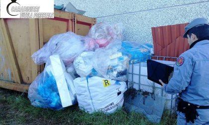 Rifiuti edili e di vario genere sequestrati a Nibbiola