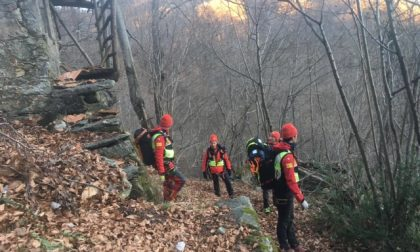Dispersa nei boschi di Cesara, escursionista in salvo