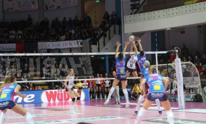 La Igor Volley si riscatta a Bergamo