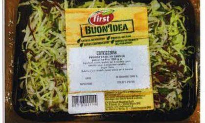Il ministero ha richiamato un lotto di insalata mista capricciosa