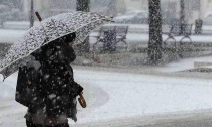 Attenzione lunedì 28 neve abbondante su tutto il novarese